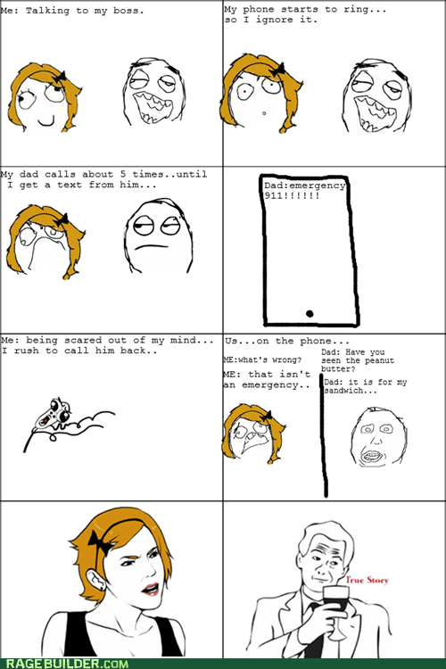 emergency parenting Rage Comics sandwich - 6412094720