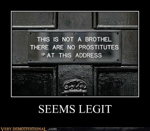 door seems legit sign - 6412108544