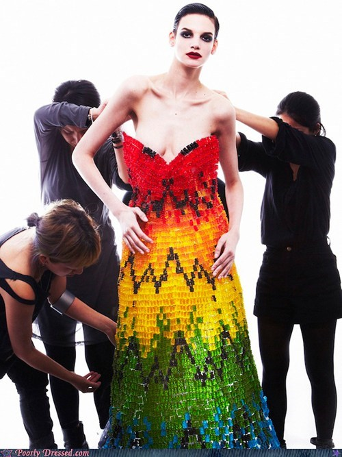 art,candy,dress,fashion,haribo