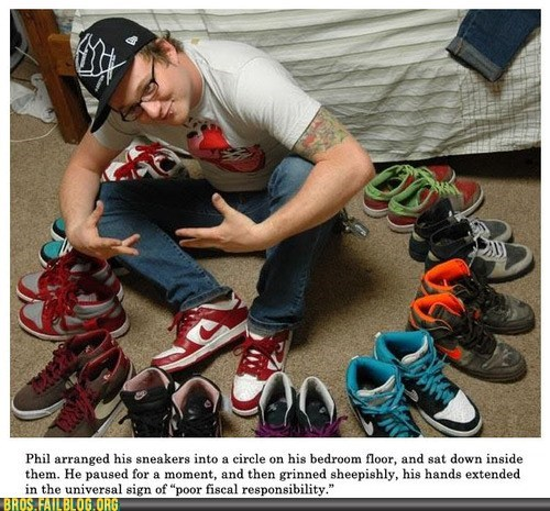 fiscal responsibility gangsta shoes thug - 6412365312