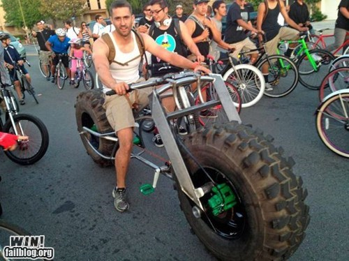BAMF big wheel bike custom design