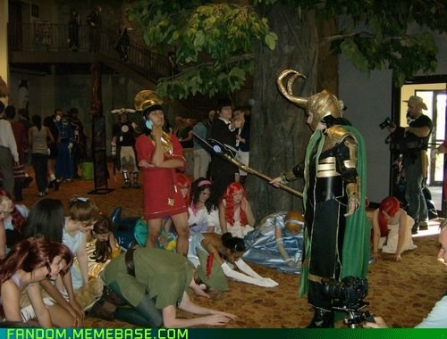 comics,cosplay,crossover,disney,kuzco,loki,movies,The Avengers,the-emperors-new-groove