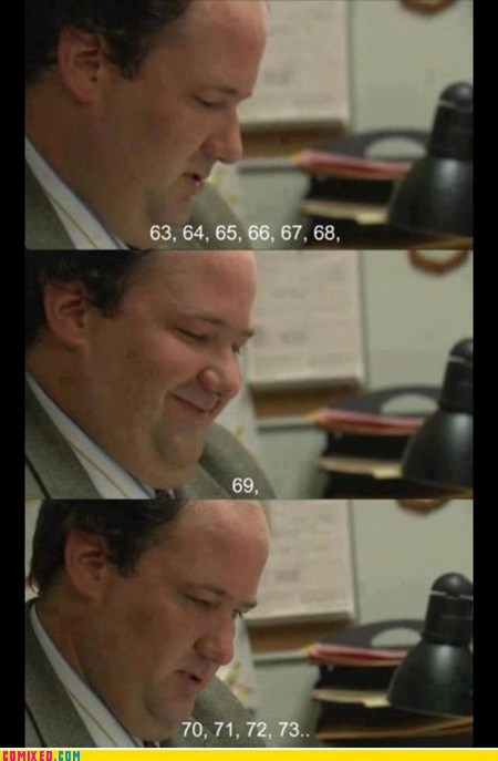 69 immature kevin the office TV - 6412685056