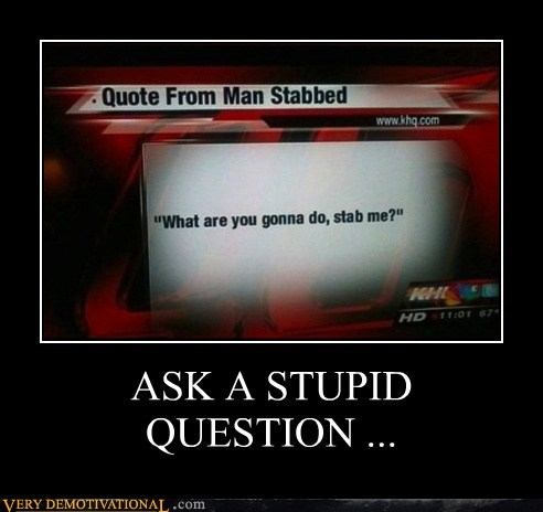hilarious question stab wtf - 6412730368