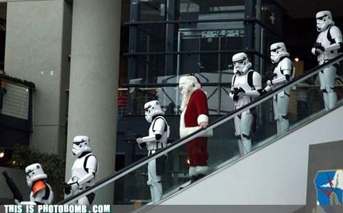 cosplay costume santa stormtrooper - 6412738048