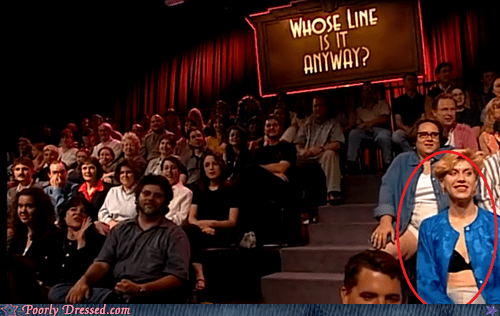 bewbs lady bits underwear whose line is it anyway - 6412802048