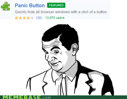 button,chrome,if you know what i mean,panic,Rage Comics