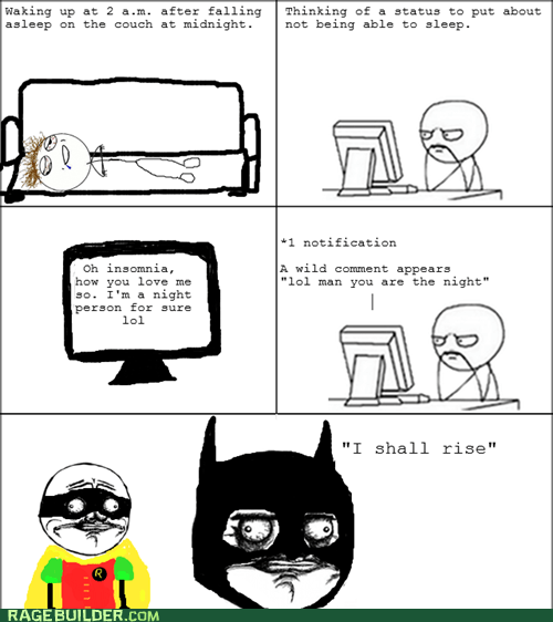 batman insomnia me gusta Rage Comics the dark knight rises - 6413014016