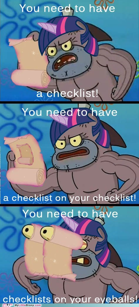 checklists comic comics SpongeBob SquarePants twilight sparkle - 6413168128