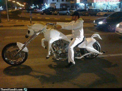 bike g rated Hall of Fame motorcycle there I fixed it unicorn unicorn motorcycle - 6413759232
