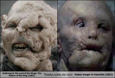 funny gothmog hannibal Lord of the Rings mason verger Movie TLL - 6413917952