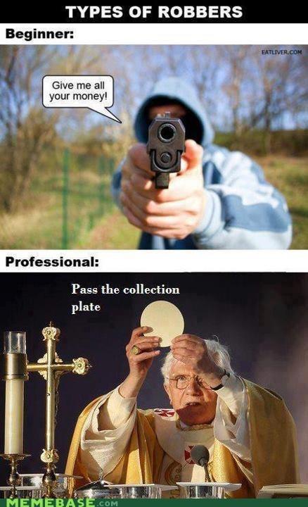 Memes religion robbery theft - 6414092544