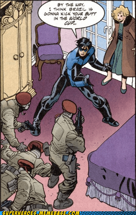 bold move nightwing Straight off the Straight off the Page world cup - 6414169856