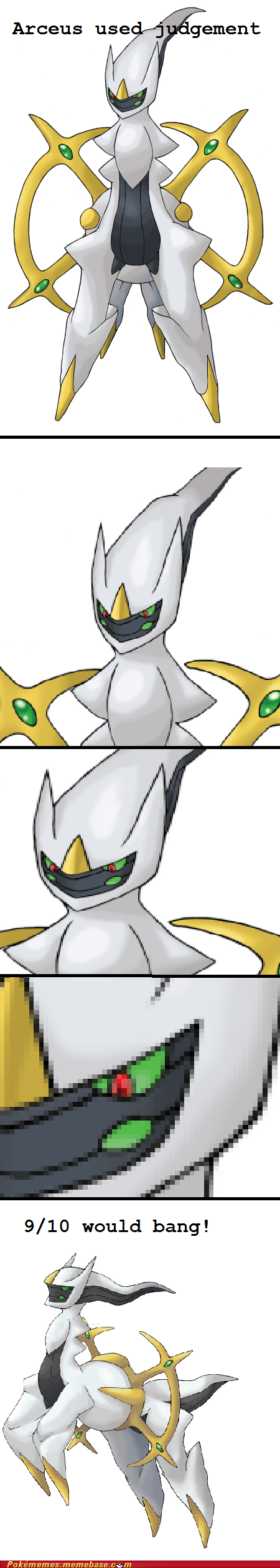 arceus,judgment,meme,Memes,would bang
