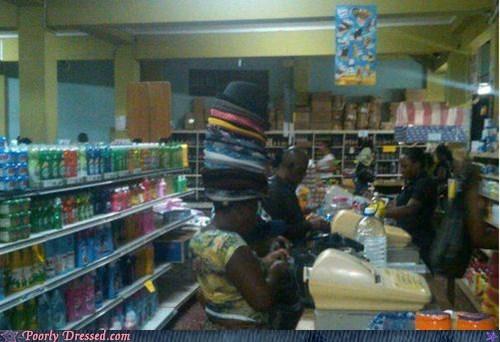 fashion hat hats weird - 6414263808