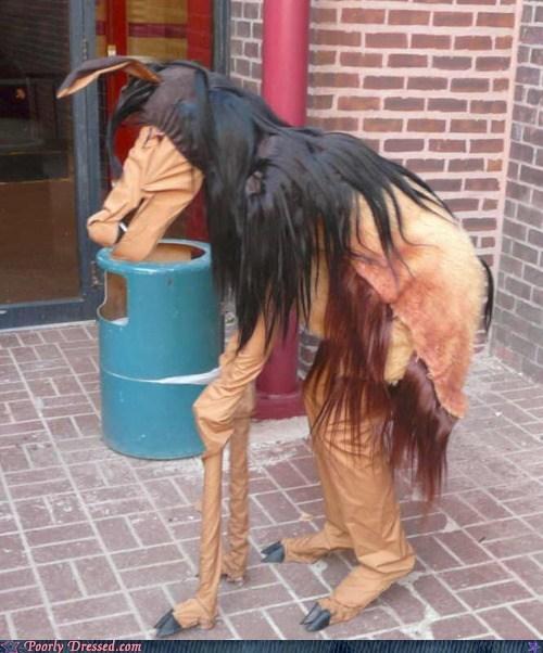 costume crazy creepy horse weird - 6414269696