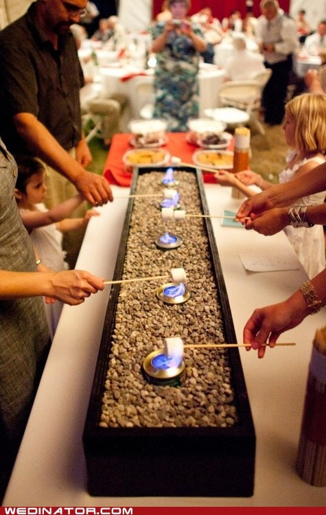catering food funny wedding photos just pretty smores - 6414312192