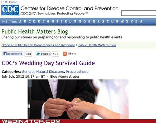 CDC,funny wedding photos
