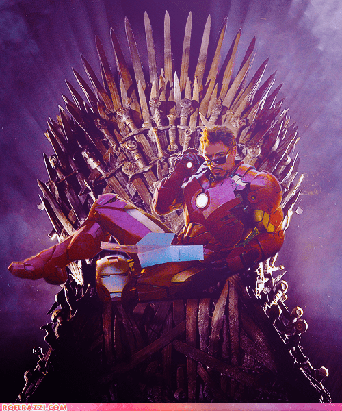 actor,celeb,funny,Game of Thrones,hbo,iron man,robert downey jr,shoop,TV