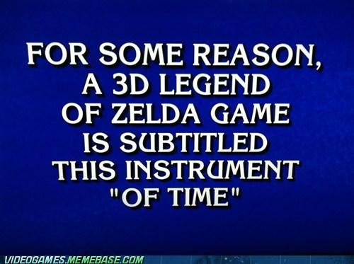 game show,IRL,Jeopardy,zelda