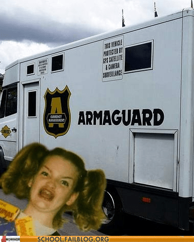 armaguard armored truck ermagherd Hall of Fame