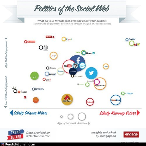 democrats,facebook,infographics,political pictures,Republicans,social media,twitter