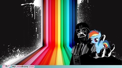 20 Percent Coole,20 Percent Cooler,darth vader,rainbow dash,star wars,twenty percent cooler