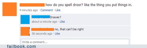drawer,droor,spelling,typo