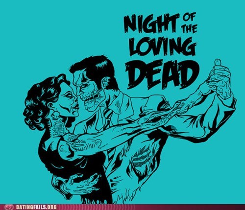night of the living dead night of the loving dead zombie - 6414606080