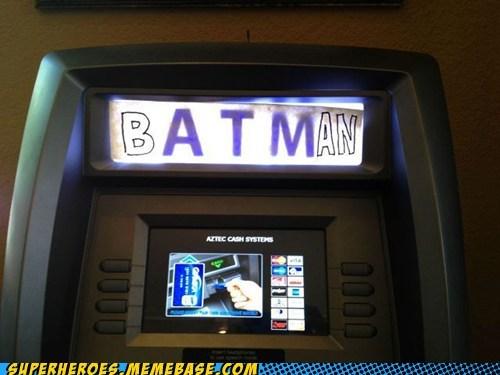 ATM batman money Random Heroics - 6414689792