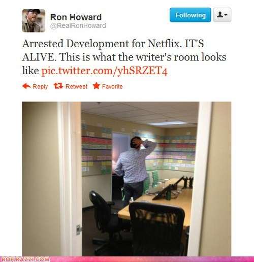 arrested development funny ron howard tweet twitter - 6414780672
