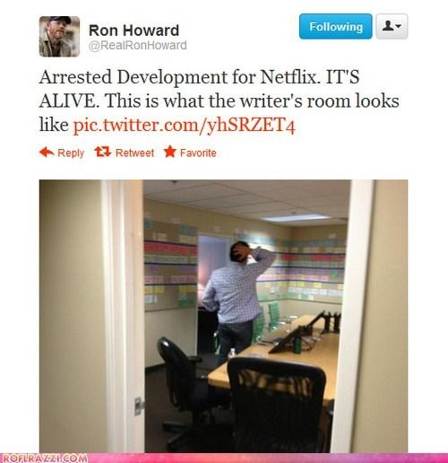arrested development funny ron howard tweet twitter - 6414780672