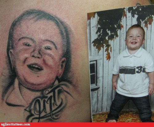 baby tattoos portrait tattoos tribute tattoos - 6414853632