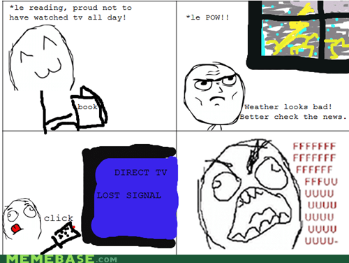 direct tv fu guy Rage Comics weather - 6415120640