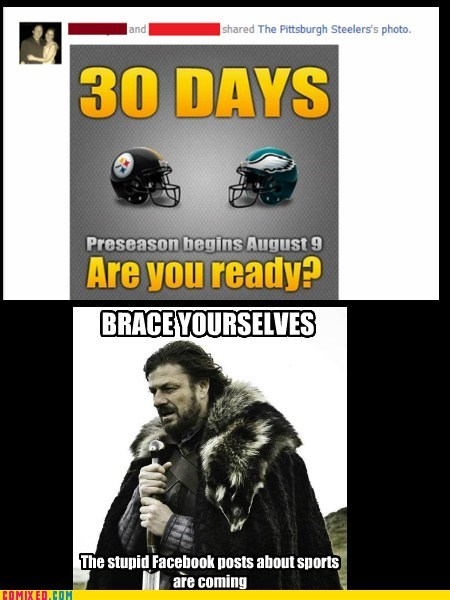 best of week brace yourselves facebook football sports are dumb strike the internets