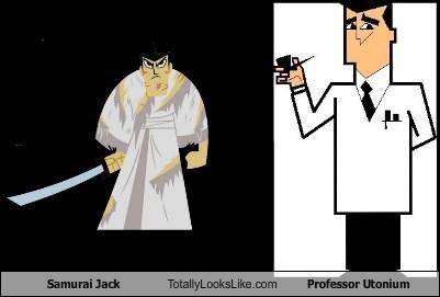 funny professor utonium samurai jack TLL - 6415478528