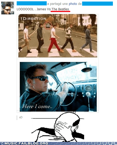 facebook,James Hetfield,metallica,one direction,the Beatles