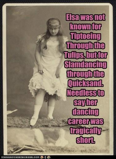 dance elsa girl slamdance tiptoe - 6416424960