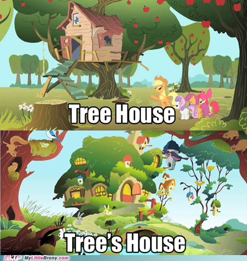 fluttershy meme tree house - 6416493056