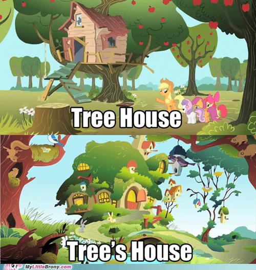 fluttershy meme tree house - 6416493056