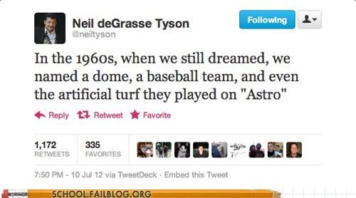 Astrodome,baseball,Neil deGrasse Tyson