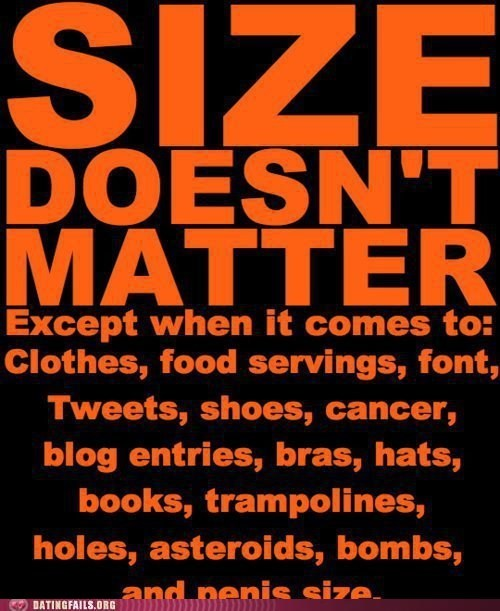 clothes,font,shoes,size-doesnt-matter,size matters