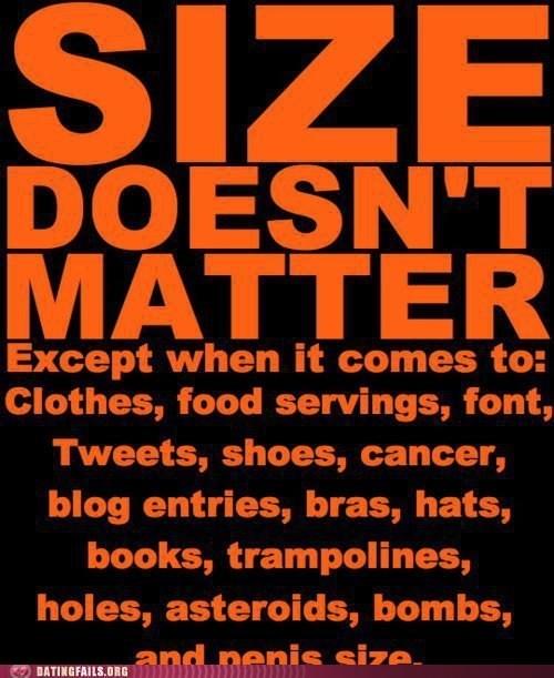 clothes shoes size matters - 6416533248