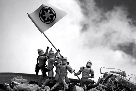 crossover,Fan Art,history,iwo jima,star wars,stormtrooper