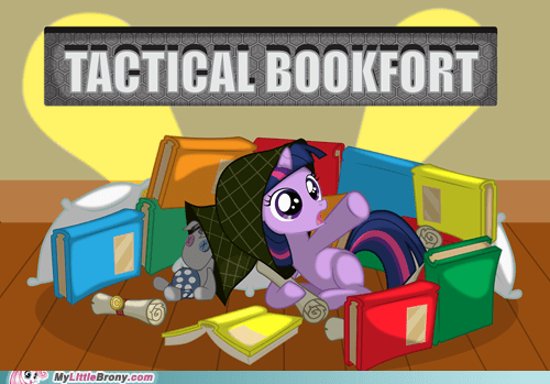 bookfort knowledge tactical bookfort the internets twilight sparkle - 6416595456