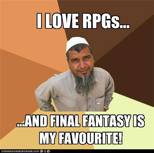 final fantasy Ordinary Muslim Ordinary Muslim Man RPG video games