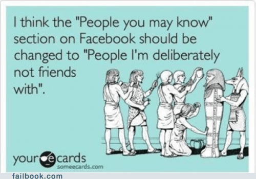 ecard,friends,people you may know