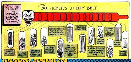 bad idea joker Straight off the Straight off the Page utility belt - 6416676096