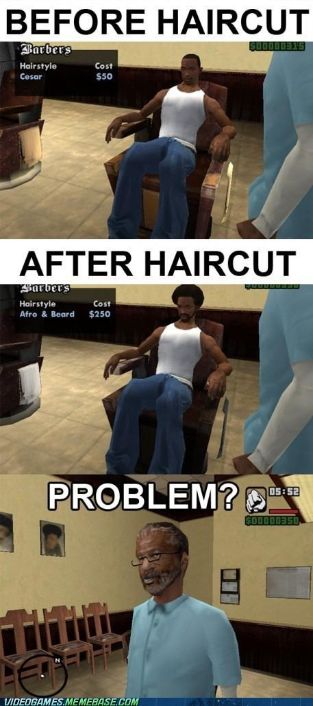 comic,Grand Theft Auto,haircut,problem