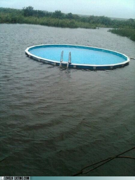 lake pool swim water weird - 6416815360